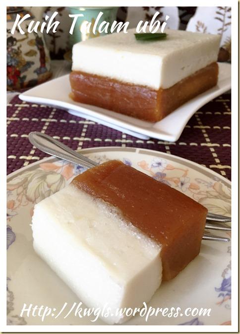 KuihTalam Ubi (木薯打南糕)