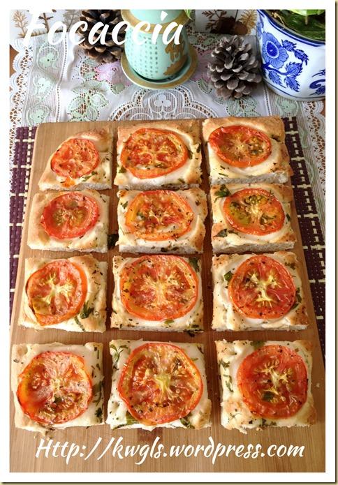 Italian Focaccia (佛卡夏,意式薄饼)