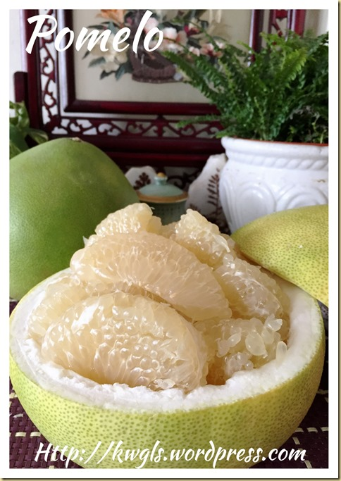 Pomelo Honey Jam (柚子蜂蜜酱)