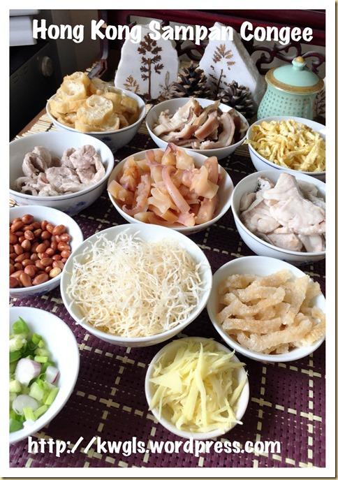 Iconic Hong Kong Porridge–Sampan or Boat Congee (香港艇仔粥)