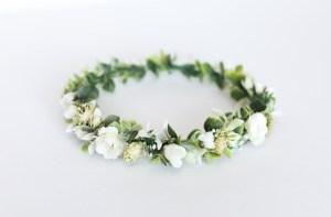 Kwiatule - Wianek na głowę romantyczny 05