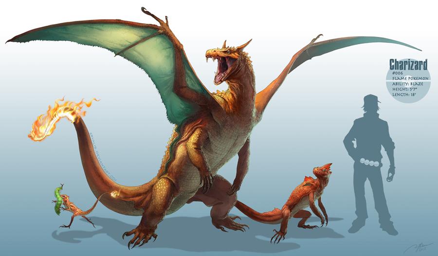 Realistic Pokemon Redesign Character Illustrations Kwik Business