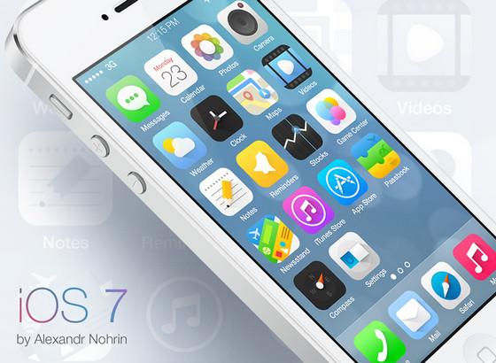 iOS icons by Alexandr Nohrin