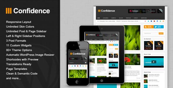 confidence 35 Impressive WordPress Themes of April 2012