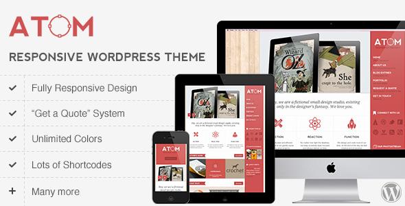 atom 35 Impressive WordPress Themes of April 2012