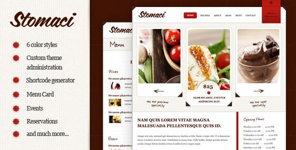 stomaci 35 Impressive WordPress Themes of April 2012