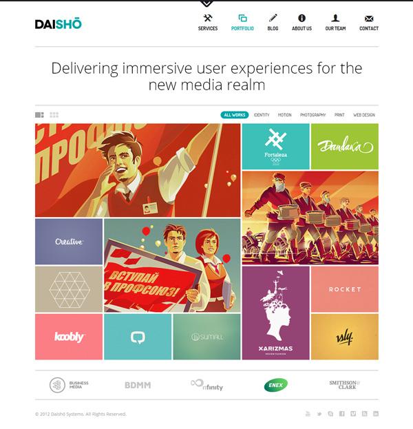 daisho Best 30 WordPress Themes of June 2012