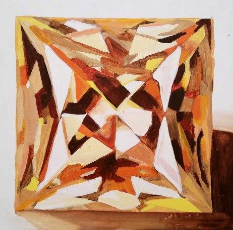 yellow gem art