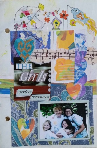 Perfect Treasures journal page