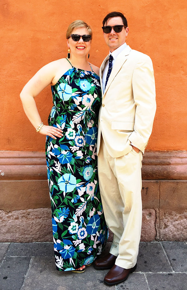 Katie and her husband, Chad.
