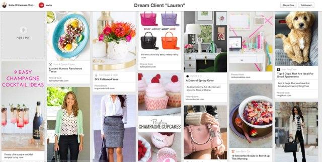 Designing Your Website for Your Dream Client // Katie Williamsen Web & Social Media, LLC