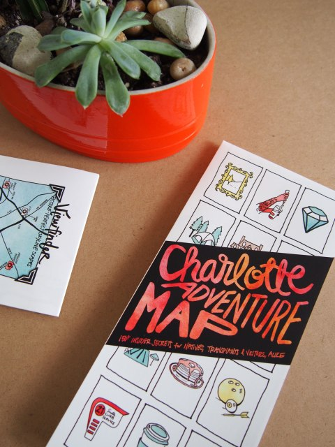 Social Media Mavens: Amanda Fisher of EDIA Maps // Charlotte Adventure Map // Katie Williamsen Web & Social Media, LLC