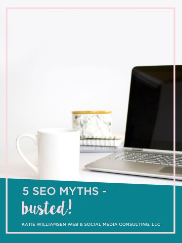 Today I'm busting some SEO myths in non-techy terms so you can start using SEO to boost your business!