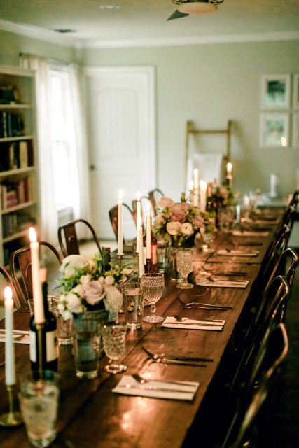 A beautiful evening dinner at illume retreat // My Top 5 Take-Aways from Illume Retreat