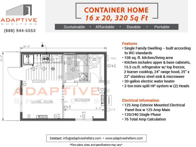 Container Houses - Adaptive Shelters