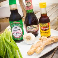 #SundaySupper Marinated Ginger Chicken & Spinach Salad