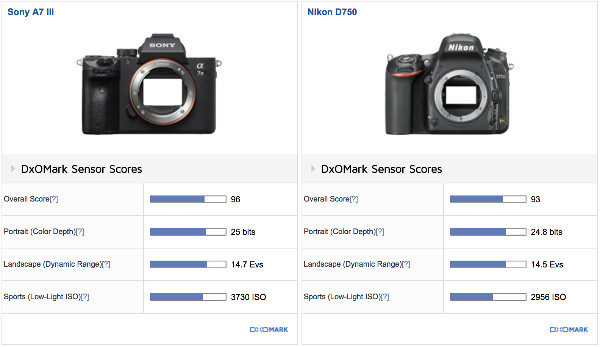 https://www.dxomark.com/Cameras/Compare/Side-by-side/Sony-A7-III-versus-Nikon-D750___1236_975