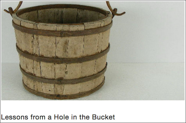 http://thelearnersway.net/ideas/2015/7/19/lessons-from-a-hole-in-the-bucket
