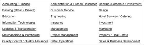 The Latest Job Vacancies November 2010