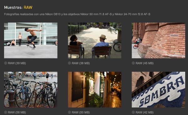 http://www.quesabesde.com/noticias/nikon-d810-analisis-fotos-muestras_12078