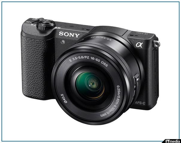 ソニー、XAVC S録画に対応した「α5100」 - ITmedia デジカメプラス