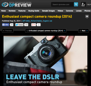 nthusiast compact camera roundup (2014): Digital Photography Review
