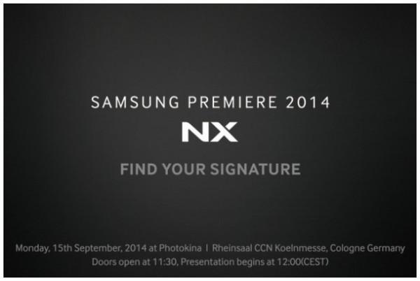 サムスンのフラッグシップ機NX1のティーザーイメージ公開