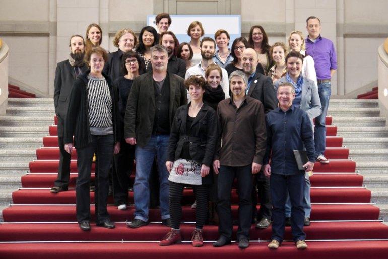 Bundesweites Netzwerktreffen der Kreativen am 07. Nov. 2014 Slide 1