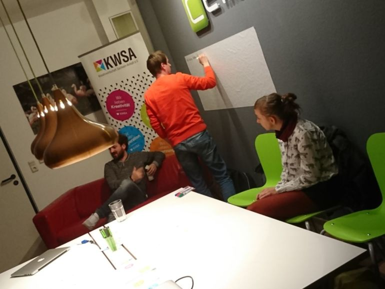 Das war unsere #1 CREATIVE COUCH im ROOM ESCAPE CHALLENGE Halle Slide 12