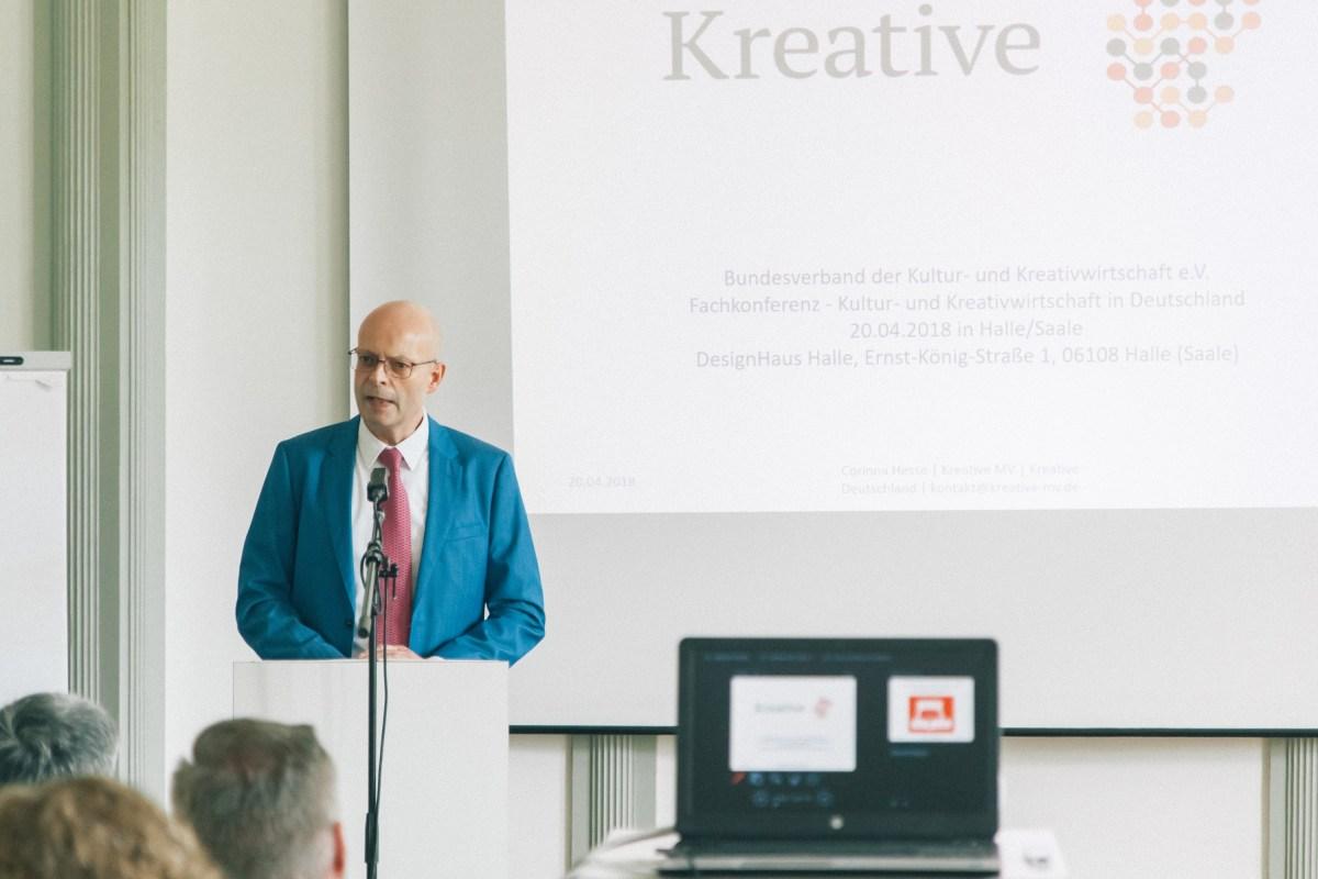Fachkonferenz – Kultur- und Kreativwirtschaft in Deutschland am 20.04.2018 in Halle (Saale) Slide 11