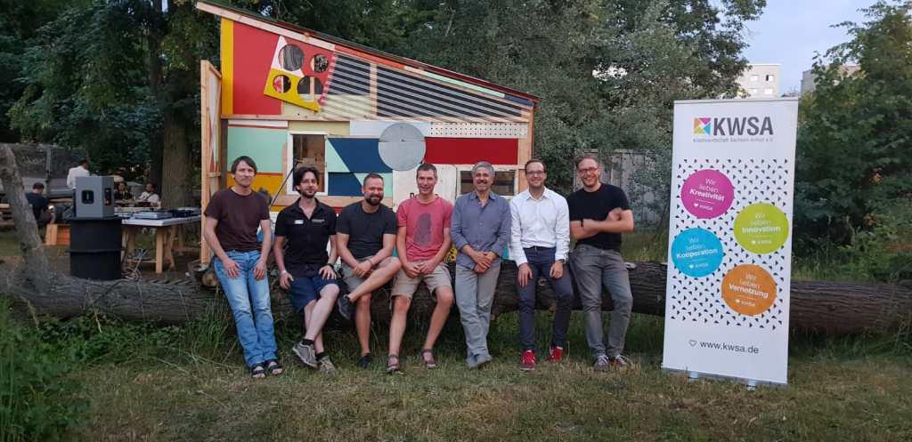 Christian Steinberg, Friedrich Lüder, Martin Dahms, Mike Berghausen, Mirko Kisser, Nino Müns, Alexander Bieß (v.l.n.r.)