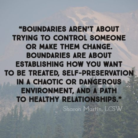 Maintaining Healthy Boundaries - KWSO 91.9