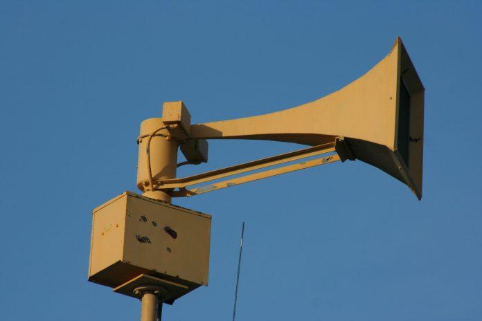 Civil Defense sirens test on Tuesday, November 7