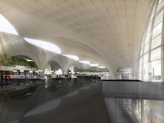 Work on new Kuwait airport terminal on track
