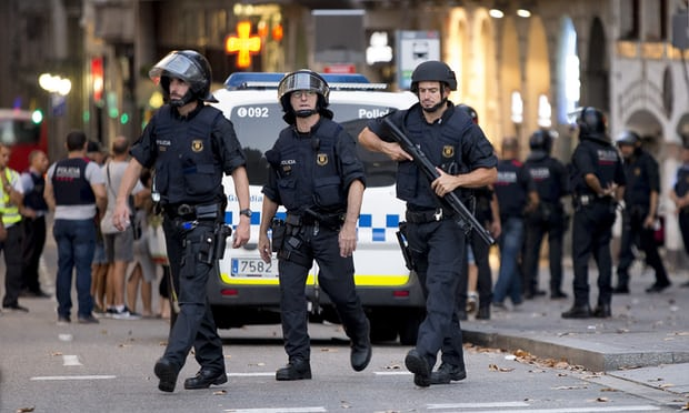 Spain terror attacks: 13 killed and 100 injured