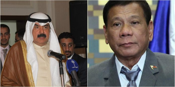 Kuwait ready to work with Manila to solve issues