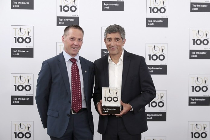 GEZE Is One of Germany's Most Innovative Companies TOP 100 Award For Exceptional Innovation Success