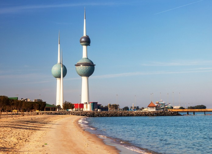 Kuwait Towers – Roof and restaurant damaged