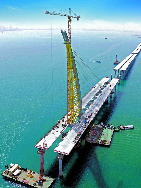 World's Longest Bridge in Kuwait Open to Public