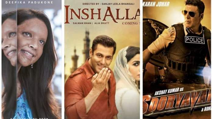 Top 8 big-budget Bollywood films of 2020 that you should watch