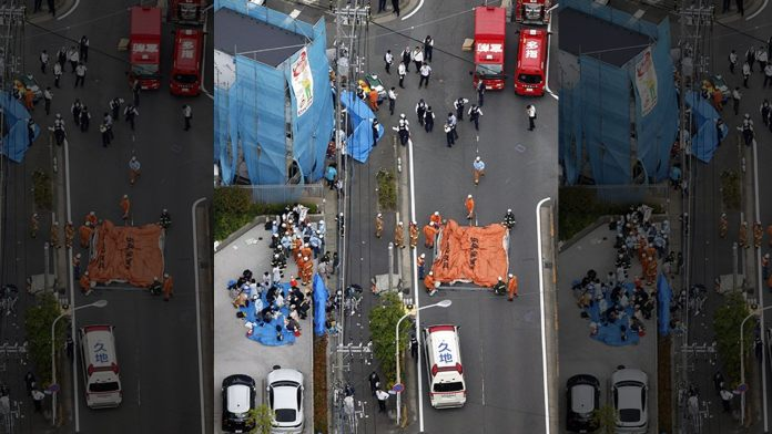 As per Report: Japan stabbing attack leaves at least 2 dead, 16 hurt; suspect dead