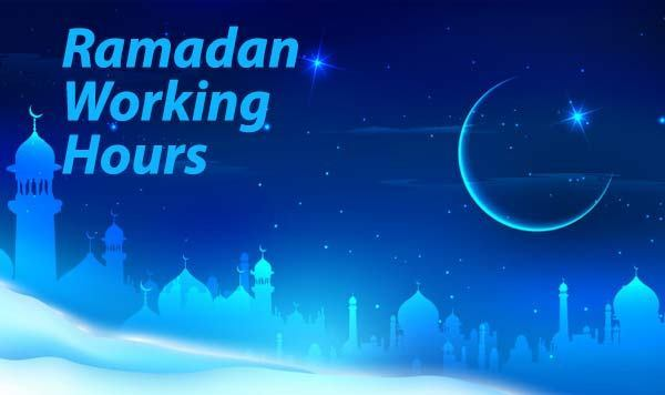 Kuwait- Ramadan timings for various institutions and facilities