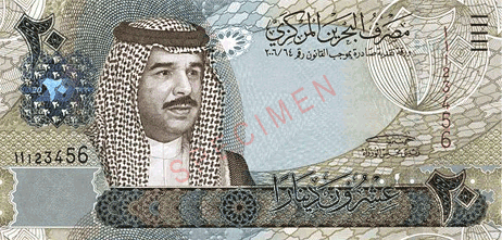 currency bahraini front Top 10 Most Expensive World Currencies in 2019