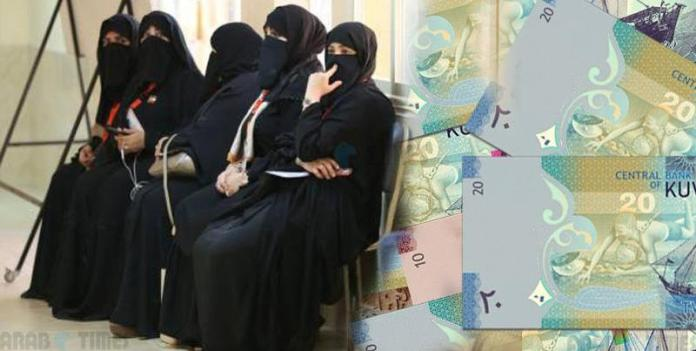 Kuwait government offering a free salary to unemployed women to avoid their divorce