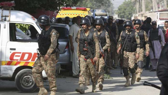 Special security services of Pakistan killed 2 ISIS terrorist which were linked to the abduction of Yousaf Raza Gilani's son