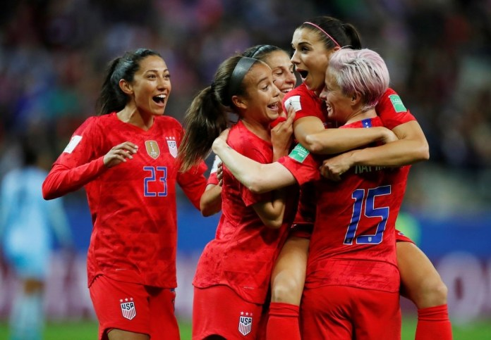 U.S. Takes Apart Thailand and the Record Book at the Women's World Cup