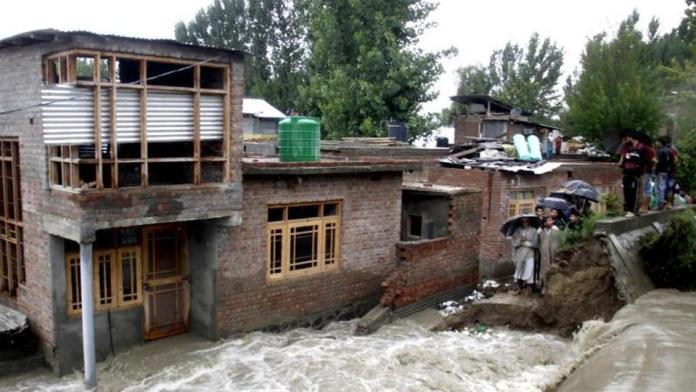Due to massive rains in J&K, 5 people drown in separate events
