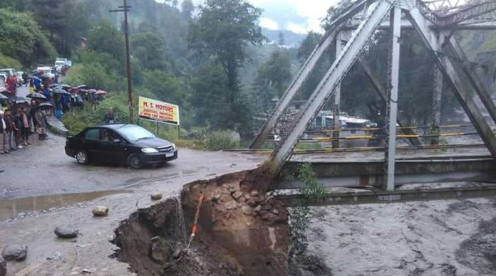 Due to massive rainfalls in Himachal water supply is densely swayed in the region