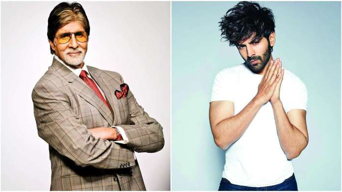 Big B & Karthik Aaryan are ready to share screen space for the first time