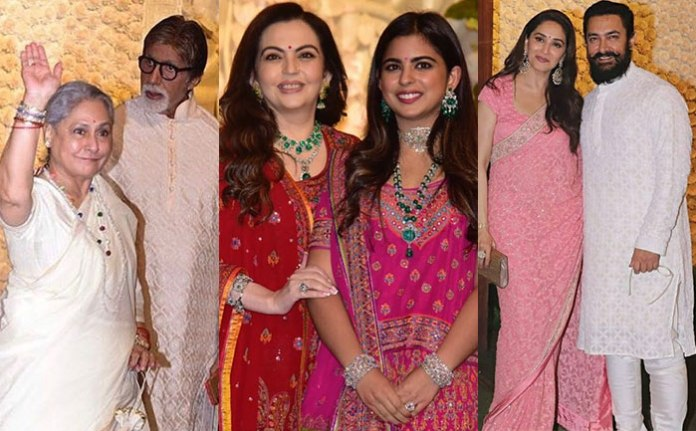 Ganesh Utsav 2019: All B'town stars pay their visit at Ambani occupancy for Ganpati festivities
